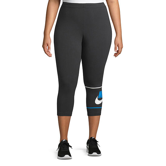 Nike Womens Mid Rise Legging-Plus