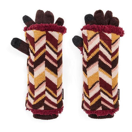 Muk Luks Chevron Cold Weather Gloves