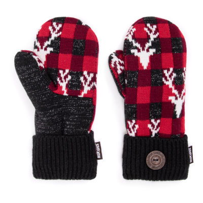 Muk Luks Plaid Cold Weather Gloves