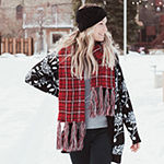 Muk Luks Plaid Cold Weather Scarf
