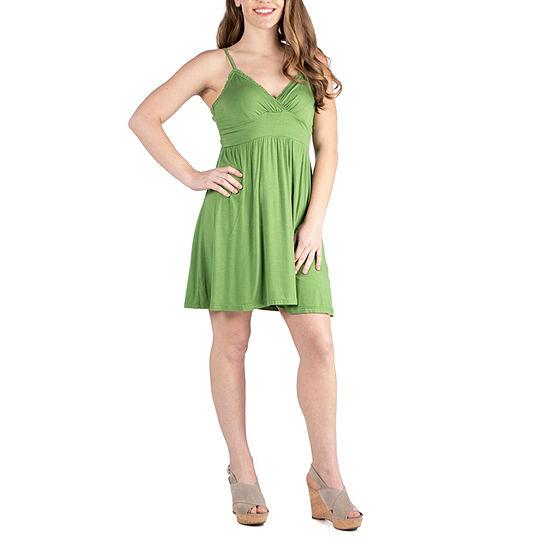 24/7 Comfort Dresses Spaghetti Strap Mini Summer Dress