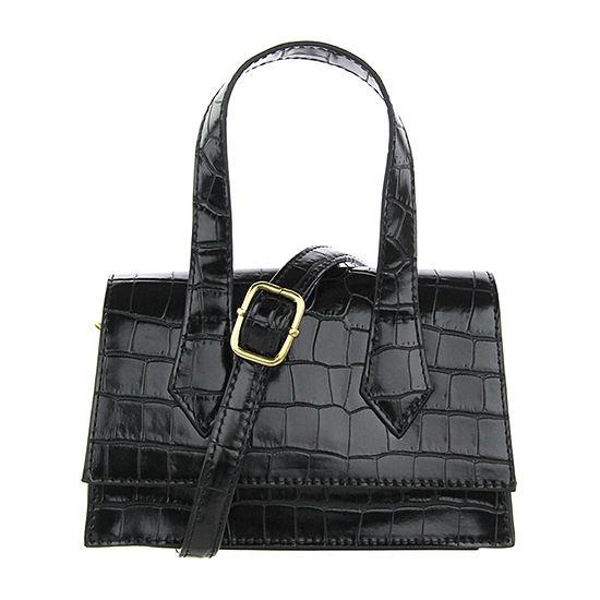 Olivia Miller Croc Crossbody Bag