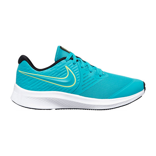 Nike Star Runner 2 Little Kid/Big Kid Boys Running Shoes, Color: Aqua -  JCPenney