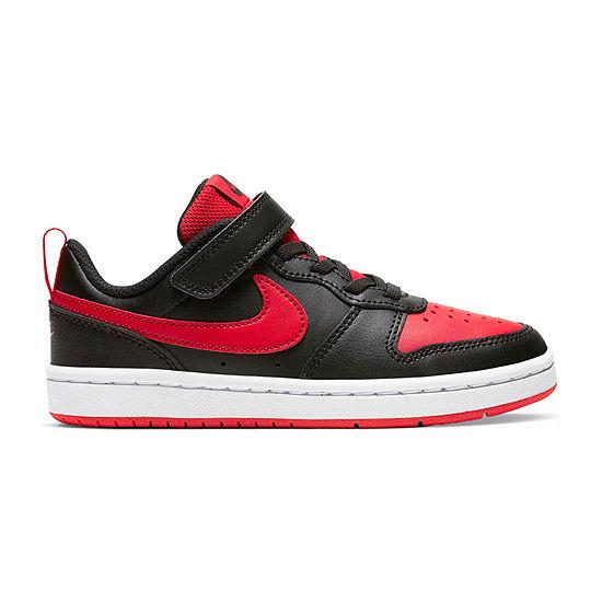 Nike Court Borough Low 2 Little Kids Boys Sneakers
