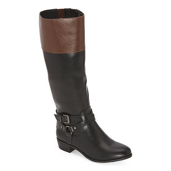 a.n.a Womens Torrance Riding Boots Block Heel