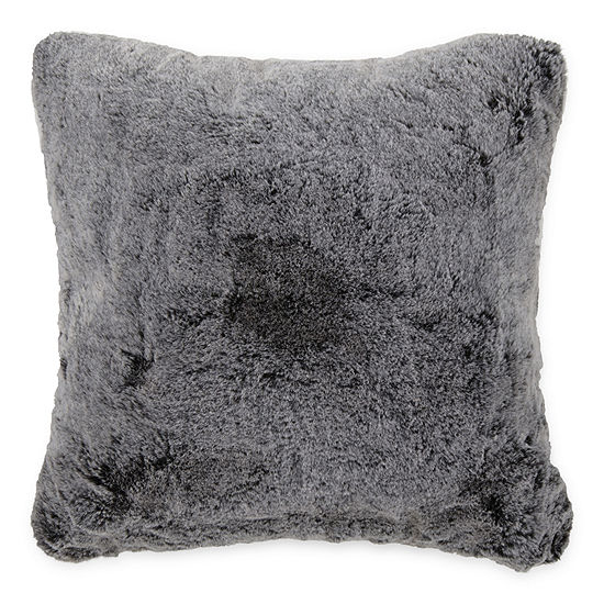 18x18 Faux Fur Throw Pillow