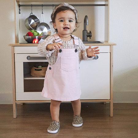 Okie Dokie Baby Girls Overalls, 3 Months , Pink