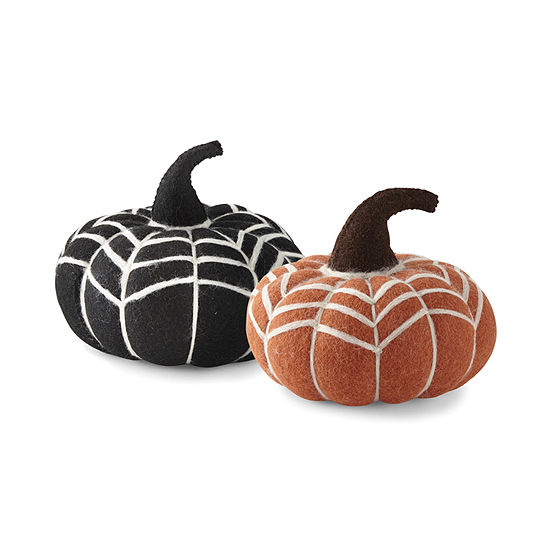 JCP Handmade Boiled Wool Pumpkin Collection! .99 (REG .00) with code GOSHOP32 at JCPenney!
