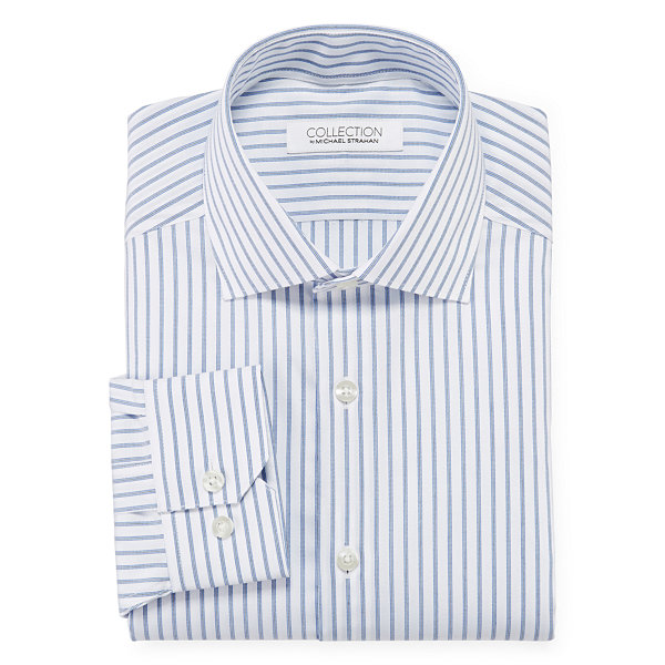 Collection by Michael Strahan Cotton Stretch Dress Shirt - Fitted