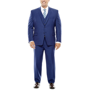 jcpenney.com | Collection by Michael Strahan Blue Herringbone Suit- Big and Tall