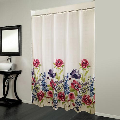 Bonita Floral Shower Curtain