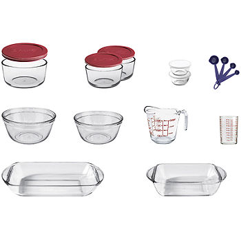 Anchor Hocking Company 16 Pc Bakeware And Food Storage Set Color Multi Jcpenney