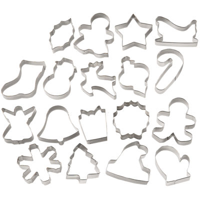 Wilton® 18-pc. Holiday Cookie Cutter Set