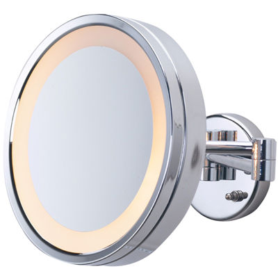 Jerdon Style Direct-Wire Lighted Mirror