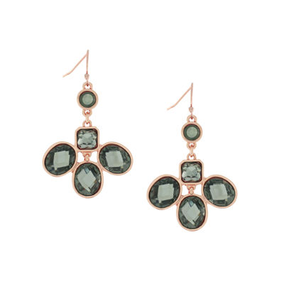 Nicole By Nicole Miller Round Chandelier Earrings