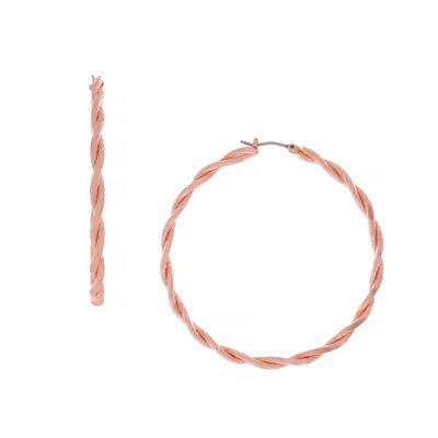 Nicole By Nicole Miller 1.5MM Round Hoop Earrings