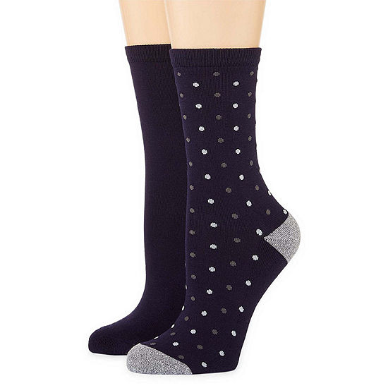 Pillowsole 2-pc. Crew Socks - Womens