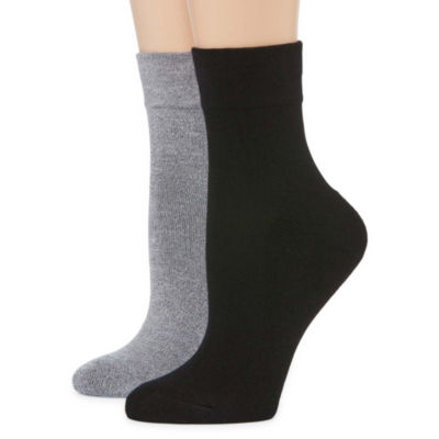 Pillowsole2-pc. Ankle Socks - Womens