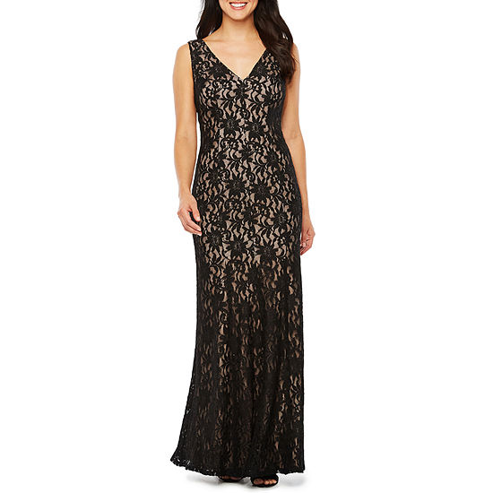 c42434e2e8 One by Eight Sleeveless Evening Gown JCPenney