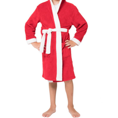 Family Pajamas Long Sleeve Robe-Big Kid Unisex