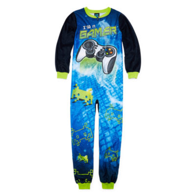 Cuttlebug Long Sleeve One Piece Pajama-Preschool Boys
