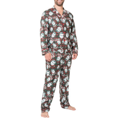 A Christmas Story Ralphie Coat Front Family Pajama Set- Men's