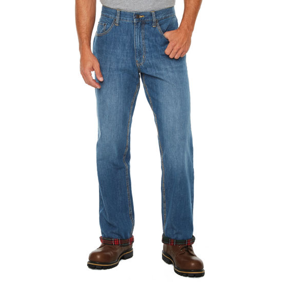 St. John's Bay Flannel Lined Relaxed Fit Jeans