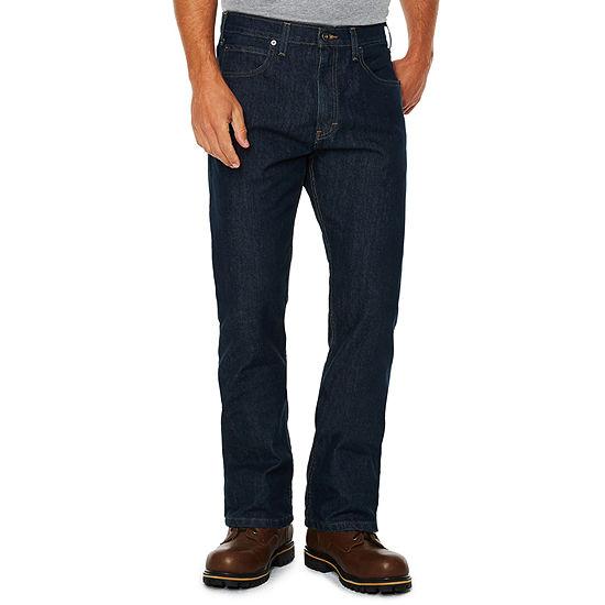 Dickies® FLEX Regular Fit Straight Leg 5-Pocket Tough Max™ Denim Jeans
