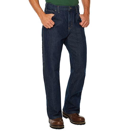 Dickies® FLEX Relaxed Fit Straight Leg 5-Pocket Carpenter Tough Max™ Denim Jeans