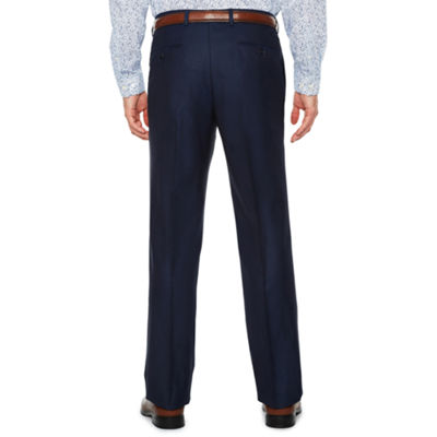 JF J.Ferrar Blue Luster Stripe Stretch Slim Fit Suit Pants - Slim