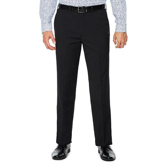 JF J.Ferrar Checked Slim Fit Stretch Suit Pants - Slim
