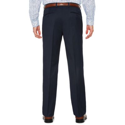 JF J.Ferrar Pin Dot Slim Fit Stretch Suit Pants - Slim