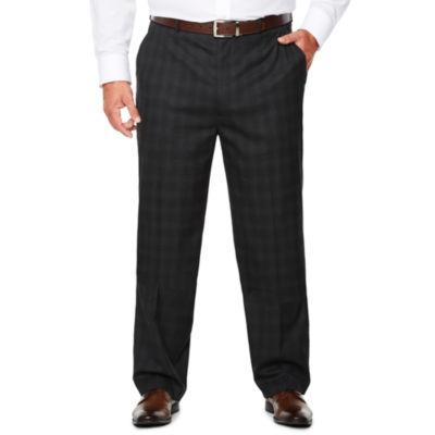 J.Ferrar Woven Suit Pants-Big and Tall