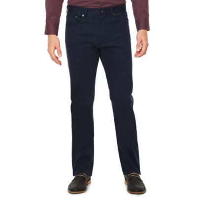 Society Of Threads 5 Pocket Chino Slim Fit Flat Front Pants