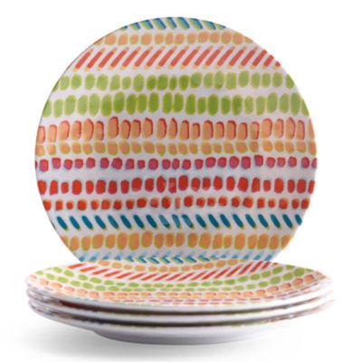 Outdoor Oasis Melamine 4-pc. Salad Plate
