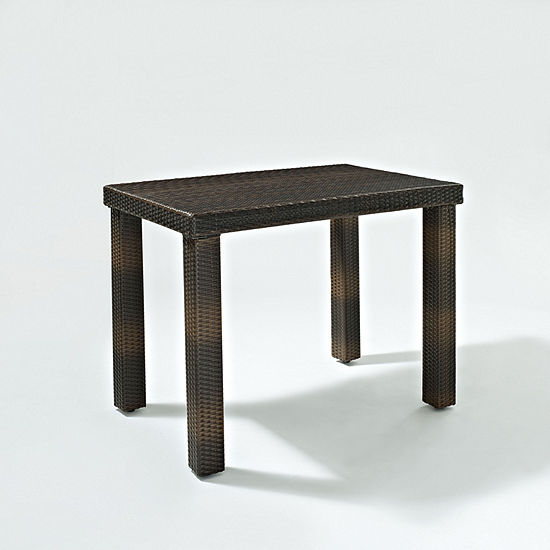 Palm Harbor Wicker High Dining Table