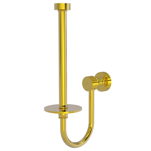 Allied Brass Foxtrot Collection Upright Toilet Tissue Holder