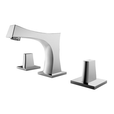 American Imaginations CUPC Round Undermount Sink Set In White With 8-in. o.c.