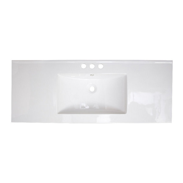 American Imaginations Flair Drop-In Sink