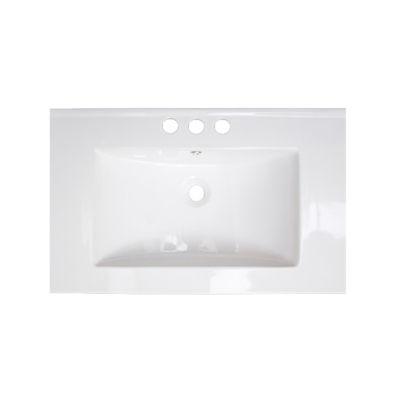 American Imaginations Roxy Drop-In Sink