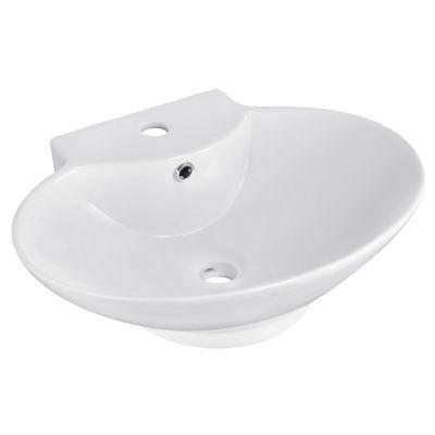 American Imaginations Ceramic Oval Vessel Sink