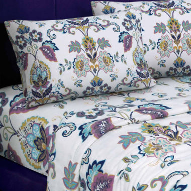 Tribeca Living Abstract Paisley Flannel Flannel Sheet Set