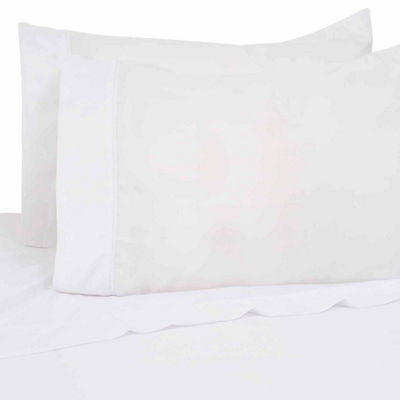 Lifestyles 200 Thread Count Cotton Rich Percale 3 Piece Sheet Set