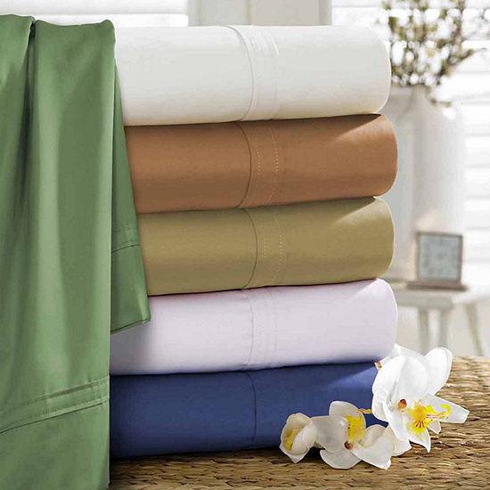 Tribeca Living 500 Thread Count Egyptian Cotton Sheet Set
