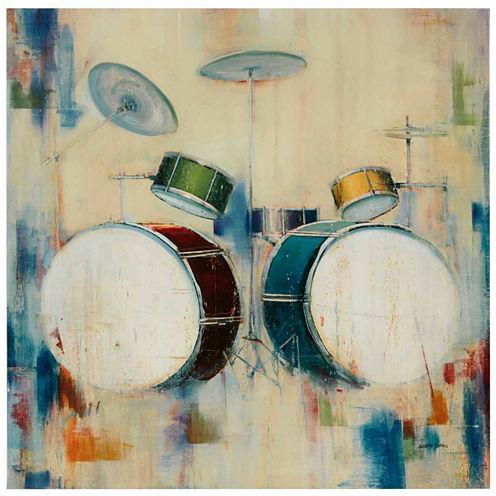 Madison Park Drum Set Gel Coat Canvas