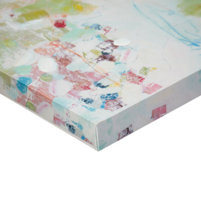 Urban Habitat Abstract Garden Gel Coat Canvas