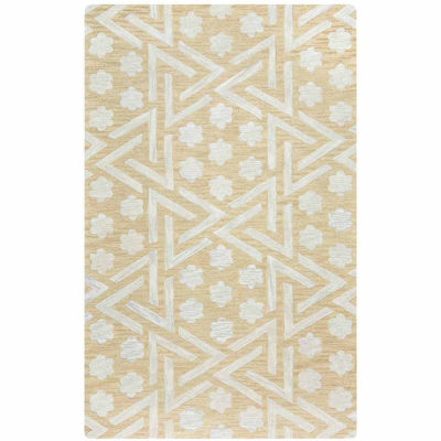 Rizzy Home Caterine Collection Hand-Tufted Eva Geometric Area Rug