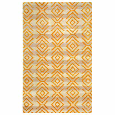 Rizzy Home Gillespie Avenue Collection Hand-Tufted Sarah Geometric Area Rug