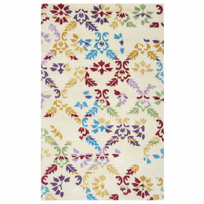 Rizzy Home Highland Collection Hand-Tufted GiannaGeometric Area Rug