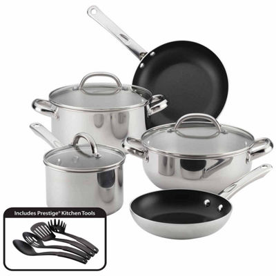 Farberware Buena Cocina 12-pc. Stainless Steel Cookware Set